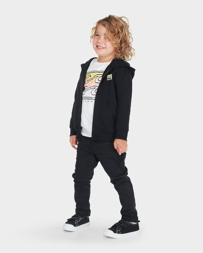 1 BOYS CRUSTY HOOD Black 7595602 Billabong