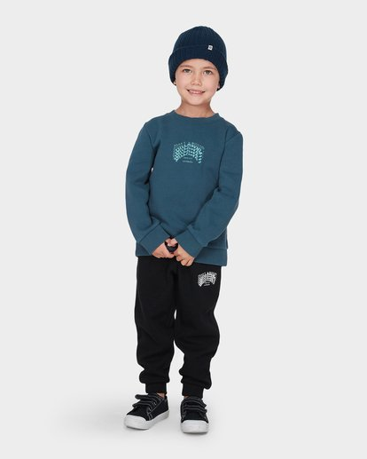 0 BOYS ARCH CREW Blue 7595604 Billabong