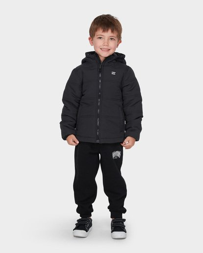 0 BOYS ESCAPE PUFFER Black 7595901 Billabong
