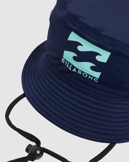 3 Groms Beach Day Bucket Hat Blue 7603301 Billabong
