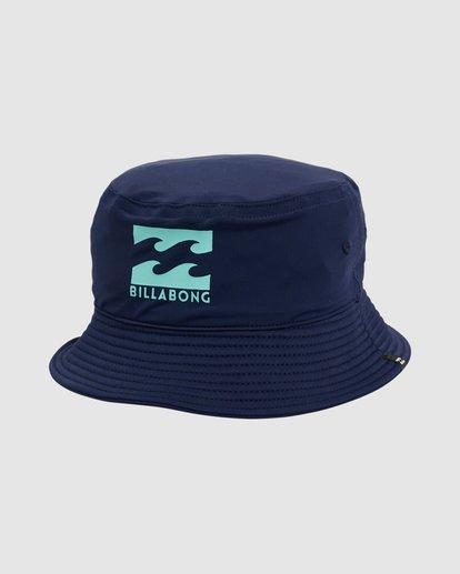 1 Groms Beach Day Bucket Hat Blue 7603301 Billabong