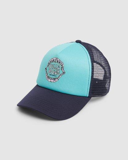 0 Groms Jaws Trucker Cap Blue 7603306 Billabong