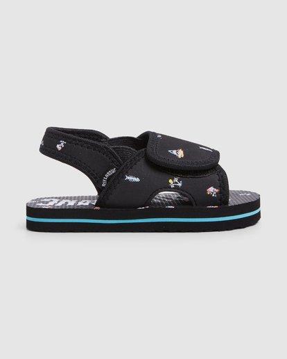2 Groms Island Slide Thongs Black 7603937 Billabong