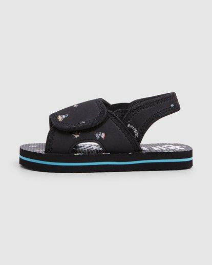 3 Groms Island Slide Thongs Black 7603937 Billabong