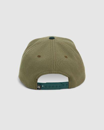 2 Groms Mixed Snapback Cap Green 7607342 Billabong