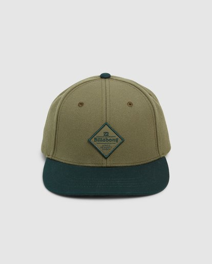 1 Groms Mixed Snapback Cap Green 7607342 Billabong