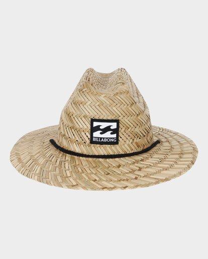 1 GROMS TIDE STRAW HAT Beige 7672301 Billabong