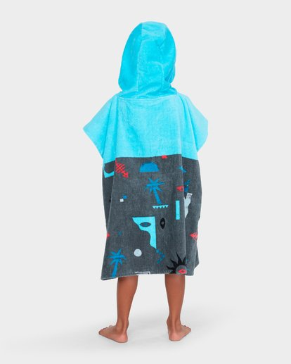 3 BOYS ISLAND HOODED TOWEL Blue 7682701 Billabong
