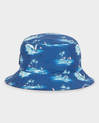 3 GROMS REVO BUCKET HAT Blue 7691305 Billabong