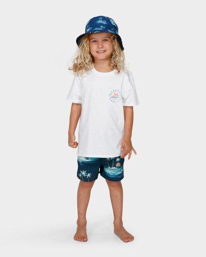 4 GROMS REVO BUCKET HAT Blue 7691305 Billabong