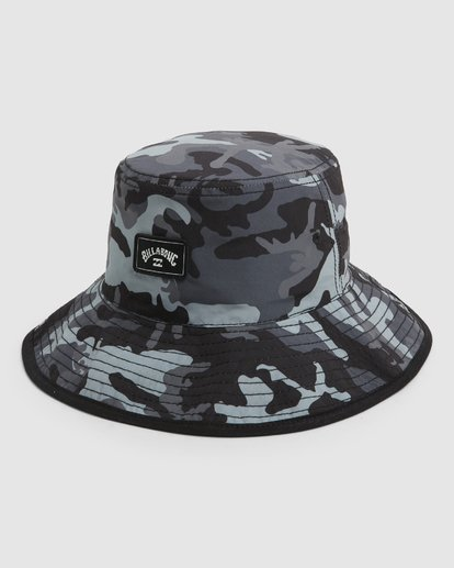 0 Groms Division Revo Hat Black 7691312 Billabong