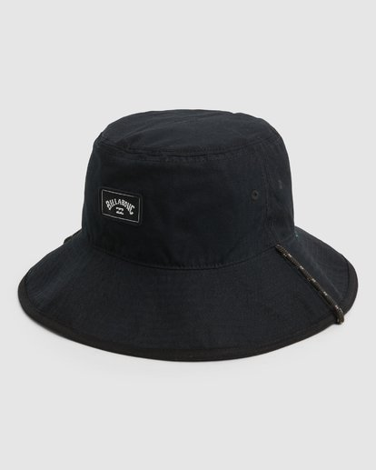 1 Groms Division Revo Hat Black 7691312 Billabong
