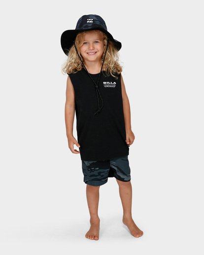 8 Groms Division Revo Hat Black 7691312 Billabong