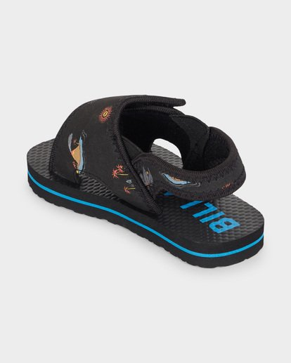 1 GROMS ISLAND SLIDE Black 7691937 Billabong