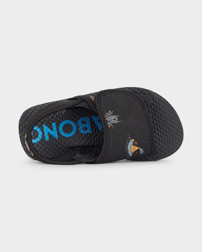 3 GROMS ISLAND SLIDE Black 7691937 Billabong