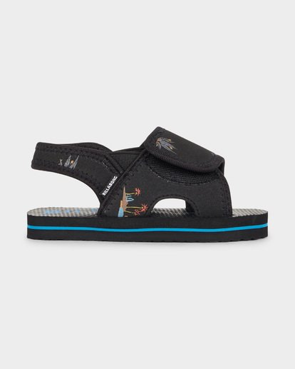 2 GROMS ISLAND SLIDE Black 7691937 Billabong
