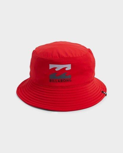 1 Groms Beach Day Bucket Hat Red 7692301 Billabong
