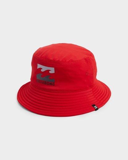 0 Groms Beach Day Bucket Hat Red 7692301 Billabong