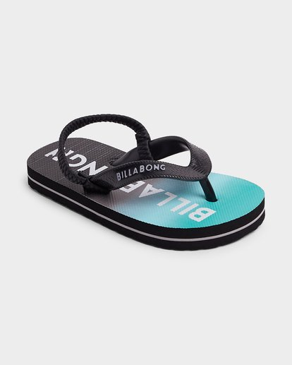1 Groms Anchored Thongs Black 7692938 Billabong