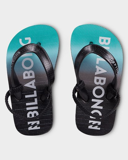 0 Groms Anchored Thongs Black 7692938 Billabong