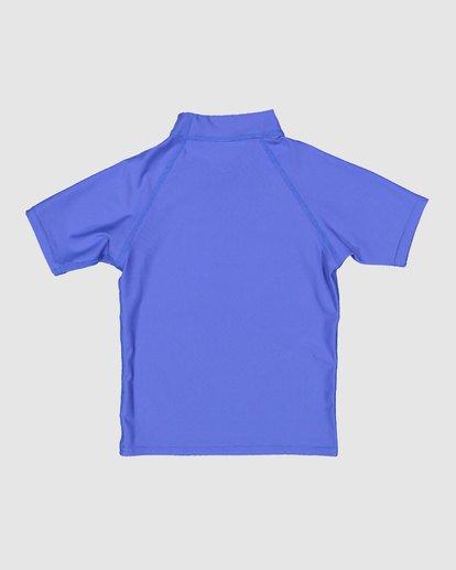 4 Boys 0-7 Union Regular Fit Rash Vest Blue 7703000 Billabong