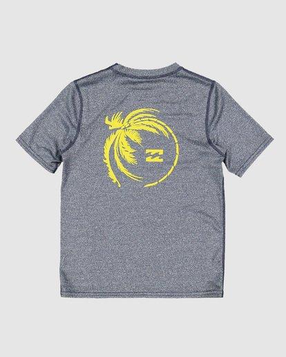 4 Groms Storm Long Sleeve Surf Shirt Blue 7707506 Billabong