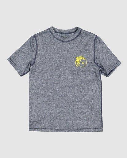 3 Groms Storm Long Sleeve Surf Shirt Blue 7707506 Billabong