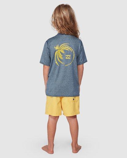 2 Groms Storm Long Sleeve Surf Shirt Blue 7707506 Billabong