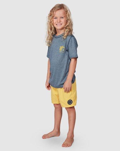 1 Groms Storm Long Sleeve Surf Shirt Blue 7707506 Billabong
