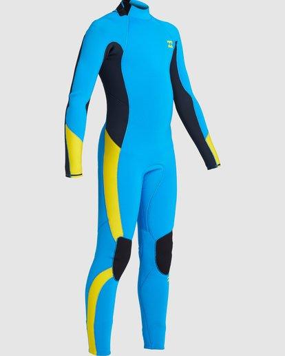 3 Boys 3/2 Absolute Back Zip Long Sleeve Gbs Fullsuit Blue 7717810 Billabong