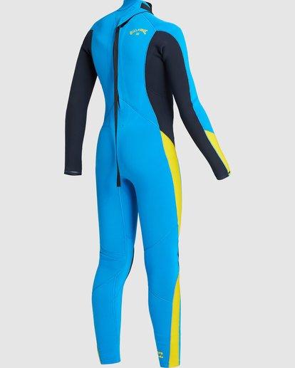 4 Boys 3/2 Absolute Back Zip Long Sleeve Gbs Fullsuit Blue 7717810 Billabong
