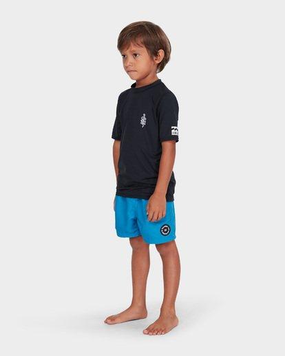 1 BOYS SHORT SLEEVE SURF SHIRT Black 7782001 Billabong