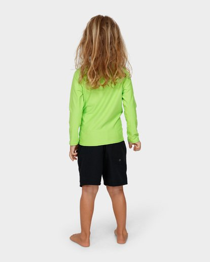 2 GROMS UNION RF LS Green 7791502 Billabong