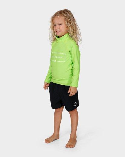 1 GROMS UNION RF LS Green 7791502 Billabong