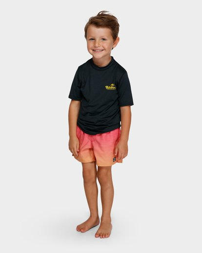 3 BOYS LOOSE FIT RASH VEST Black 7791506 Billabong