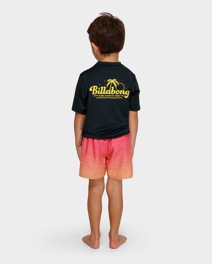 2 BOYS LOOSE FIT RASH VEST Black 7791506 Billabong