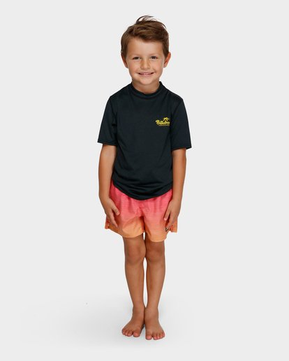0 BOYS LOOSE FIT RASH VEST Black 7791506 Billabong