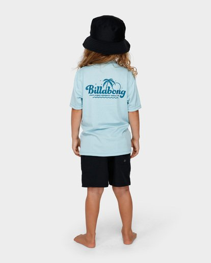 2 BOYS LOOSE FIT RASH VEST Blue 7791506 Billabong