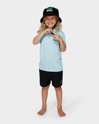 0 BOYS LOOSE FIT RASH VEST Blue 7791506 Billabong