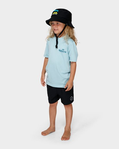 1 BOYS LOOSE FIT RASH VEST Blue 7791506 Billabong