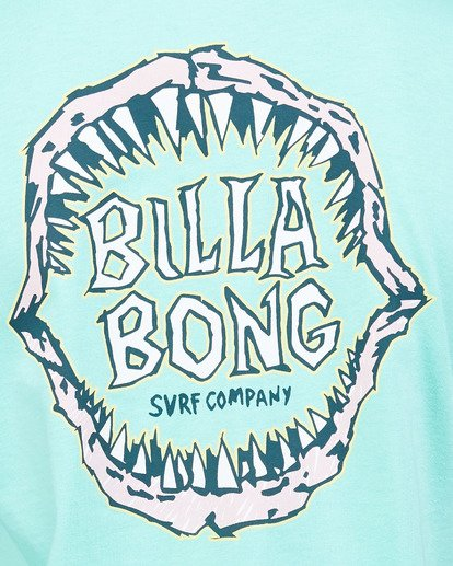 5 Boys Jaws Short Sleeve Tee Blue 8503000 Billabong