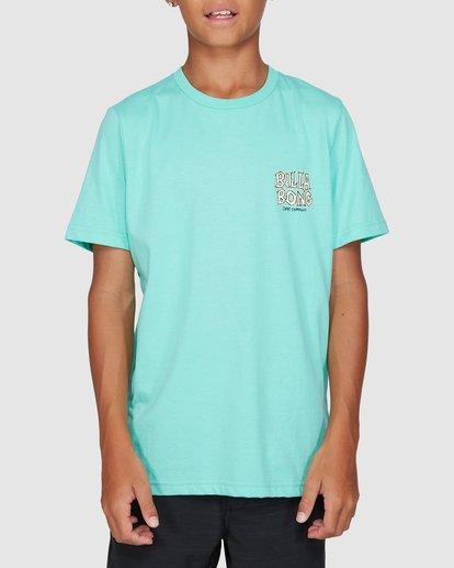 1 Boys Jaws Short Sleeve Tee Blue 8503000 Billabong