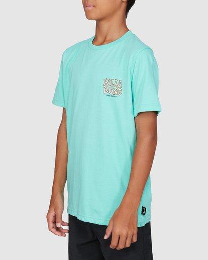 2 Boys Jaws Short Sleeve Tee Blue 8503000 Billabong