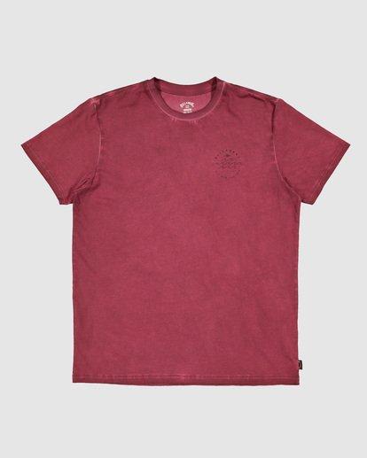 6 Boys Big Wave Dave Short Sleeve Tee Red 8503012 Billabong