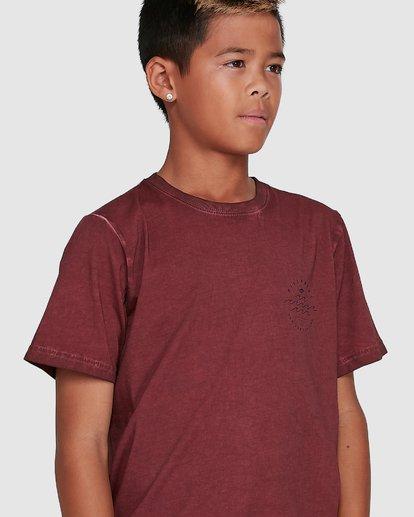 4 Boys Big Wave Dave Short Sleeve Tee Red 8503012 Billabong