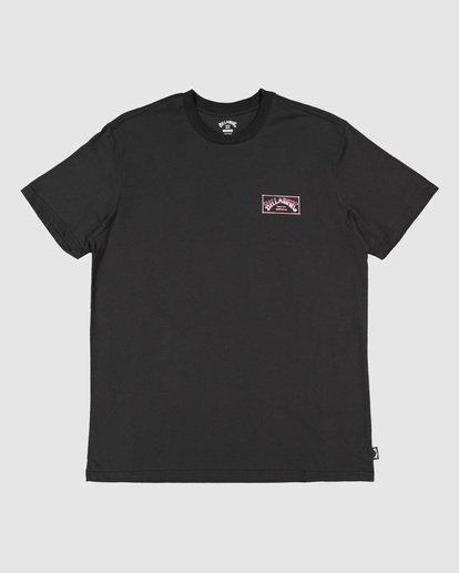 6 Boys Boxed Arch Short Sleeve Tee Black 8503014 Billabong