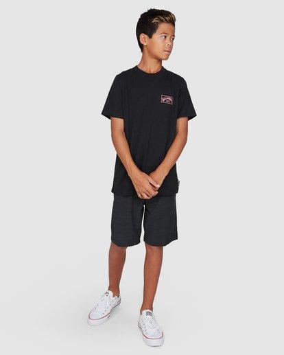 9 Boys Boxed Arch Short Sleeve Tee Black 8503014 Billabong