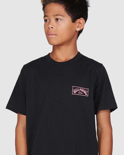 4 Boys Boxed Arch Short Sleeve Tee Black 8503014 Billabong