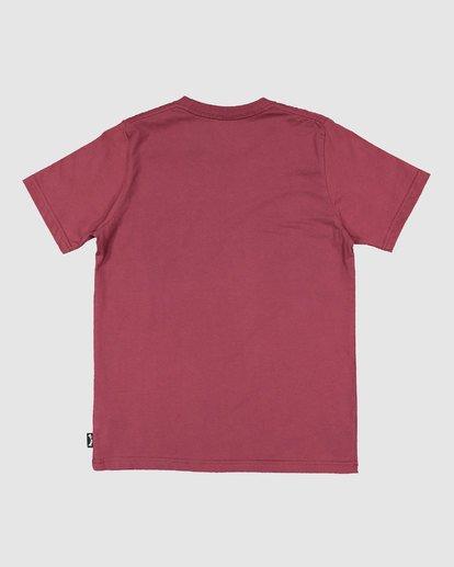 7 Boys Smitdog Short Sleeve Tee Red 8503020 Billabong