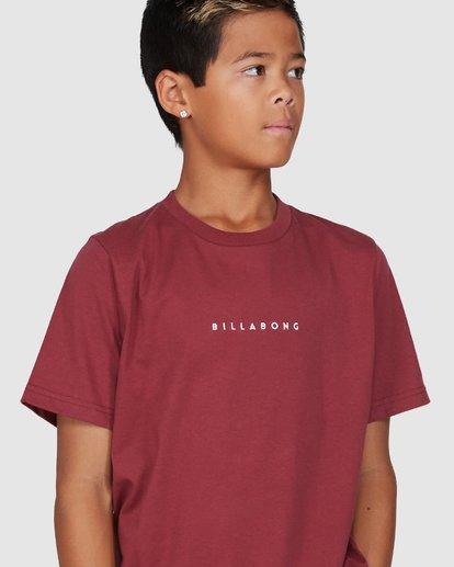 4 Boys Smitdog Short Sleeve Tee Red 8503020 Billabong